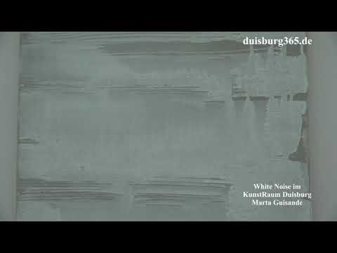 White Noise im KunstRaum Duisburg   Marta Guisande