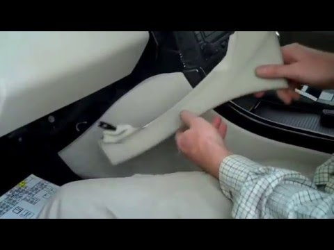 How To Change The Interior Air Vent Trim On A Range Rover Sport 2005 - 2009