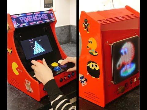 PIXELCADE - Mini Bartop Arcade With Integrated PIXEL LED Display: 13