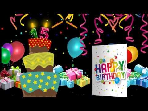 Proshow Producer Templates Birthday