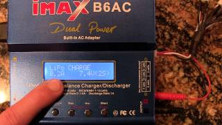 how to charge lipo with imax b6