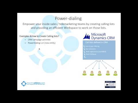 Webinar: Connect your phone System with Microsoft Dynamics CRM