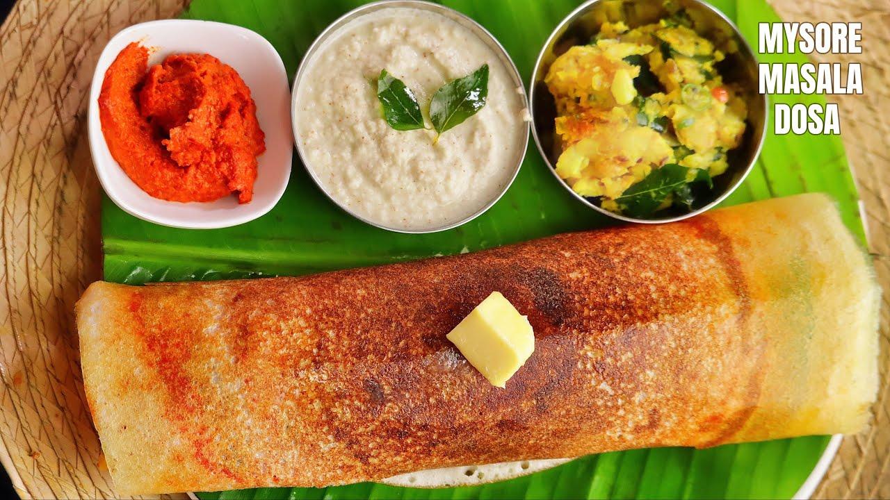 How to make Perfect Mysore Masala Dosa Batter at home in Telugu | @Vismai Food  Tiffin Recipes