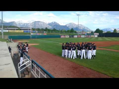Syracuse Arts Academy Choir Sings National Anthem to Begin UVU Baseball Game
