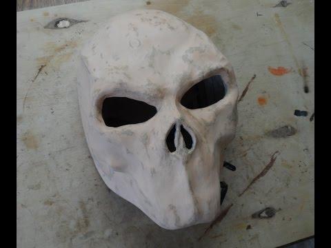 Как сделать маску Смерти из Darksiders 2 из бумаги (2 часть)