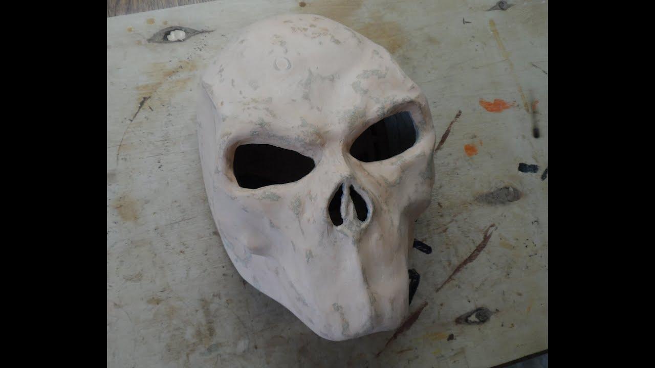 Видео как сделать своими руками маску