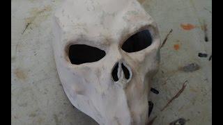 Как сделать маску Смерти из Darksiders 2 из бумаги (2 часть)(Клеевый пистолет http://ali.pub/pf3yl Инструмент для лепки http://ali.pub/ns6cm Полимерная глина http://ali.pub/2ug9c Делаем маску..., 2015-06-30T18:49:20.000Z)