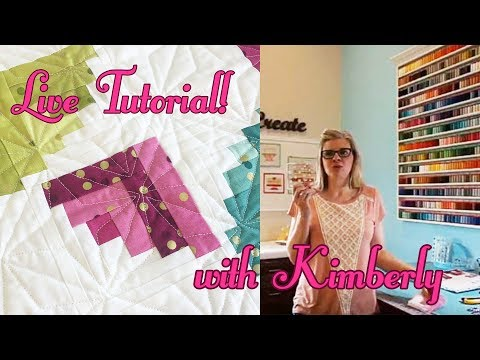 Behind the Seams: Live Tutorial with Kimberly | Fat Quarter Shop