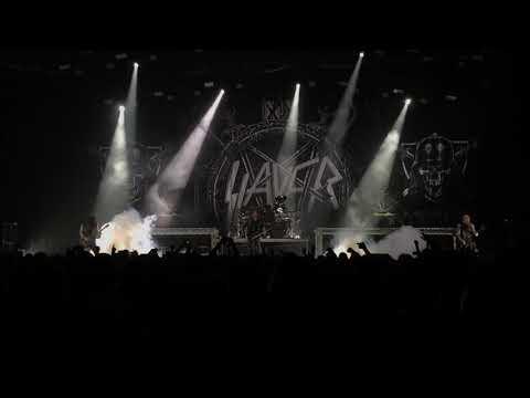 Slayer - Payback Live @ Helsinki Ice Hall, Finland 8/12/2018