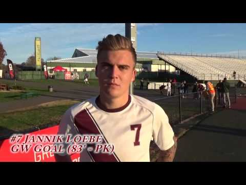 Atlantic 10 Quarterfinal - Fordham Men's Soccer vs. UMass - November 12, 2015