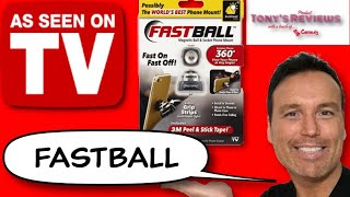 Fastball   As Seen On TV Magnetic Phone Mount   Febreze Gain Car Freshener Review
