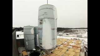 bell s 800 barrel fermentation tank installation