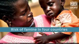 DFID - Four countries, four crises. #UKaid to help millions of people at risk from famine.