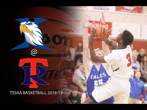 2018 19 TSSAA Basketball Jackson Christian School @ Tipton Rosemark Academy