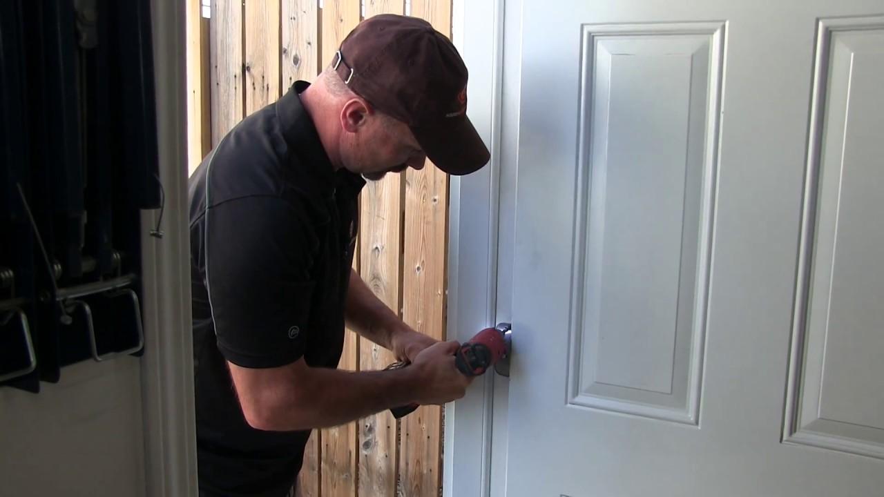 How To Adjust A Door Hinge - YouTube House Door Hinges on