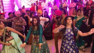 Wedding performance on punjabi songs