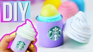 diy starbucks eos make your own starbucks lip balm