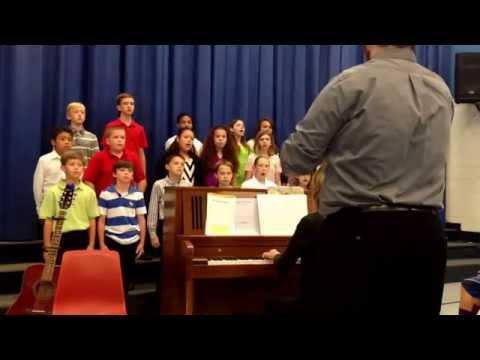 The Moon, Silk Hope School 6 Chorus, 05/21/2015