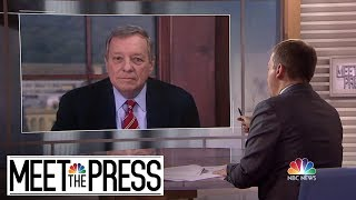 Full Durbin: 'Complete Disclosure Of The Mueller Report'   Meet The Press   NBC News