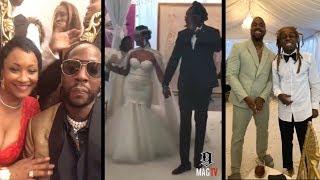 2 Chainz Marries Kesha Ward With Kanye & Lil Wayne In Attendance!