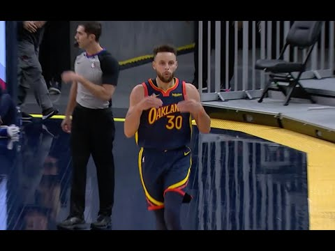 Stephen Curry Says It's Over After Hitting Clutch Three To Close Out Heat In OT