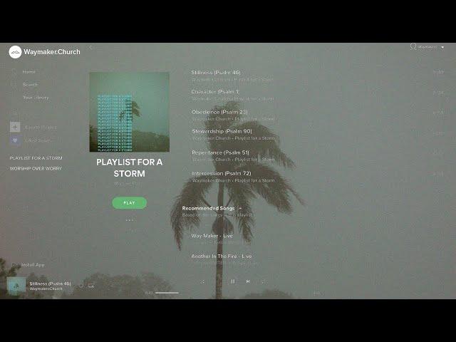 Playlist for a Storm: Psalm 90 | 9:15 Service