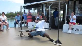 Freeport, Bahamas Limbo Dance: How Low Can He Go?