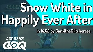 Snow White in Happily Ever After by GarbitheGlitcheress in14:52-Awesome Games Done Quick 2021 Online