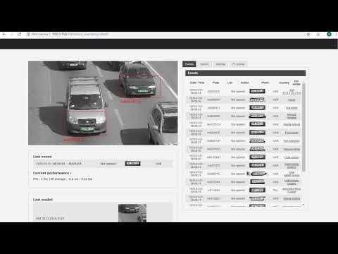 ELSA - LPR & ANPR ip camera application & softtware   automatic