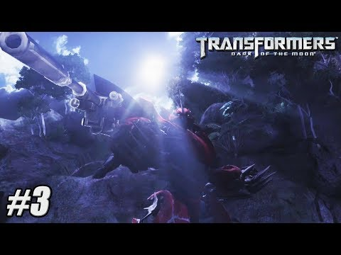 Transformers Dark of the Moon - Xbox 360 / PS3 Gameplay Playthrough - Chapter III PART 3