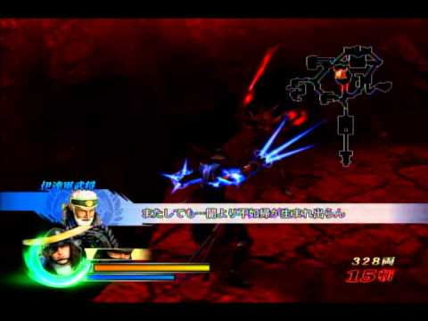 Sengoku Basara3-Date Masamune vs Oda Nobunaga (no testament, No damage)