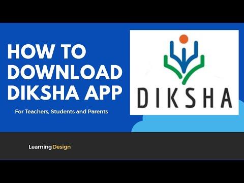 DIKSHA App Video | How to Download DIKSHA App | For Teachers, Students and Parents