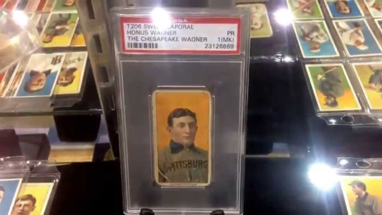 Holly Grail Baseball Card Homes Wagner 1909 1911 T206