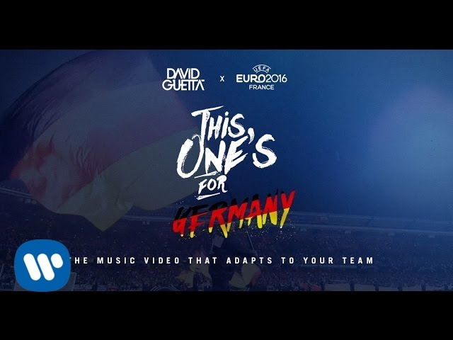 David Guetta Ft Zara Larsson This Ones For You Germany Uefa