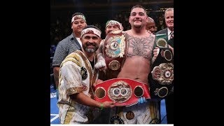 BREAKING NEWS! ANDY RUIZ SPLITS WITH MANNY ROBLES FROM THE INSTRUCTIONS OF AL HAYMON
