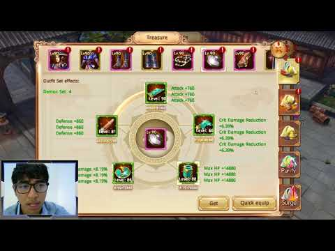 Age Of Wushu Dynasty - How to up power fast #Fan request