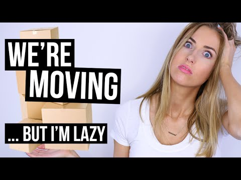 The Lazy Girl's Guide to MOVING HACKS || ... I'M MOVING!!!
