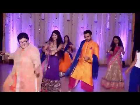 Gal Mithi Mithi Bol-Flash Mob-Pari's Sangeet