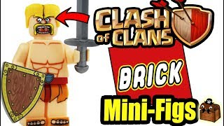 Clash of Clans LEGO Custom Minifigures 2018