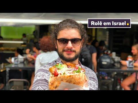 DESCOBRINDO AS COMIDAS DE ISRAEL | VIAGEM | Mohamad Hindi