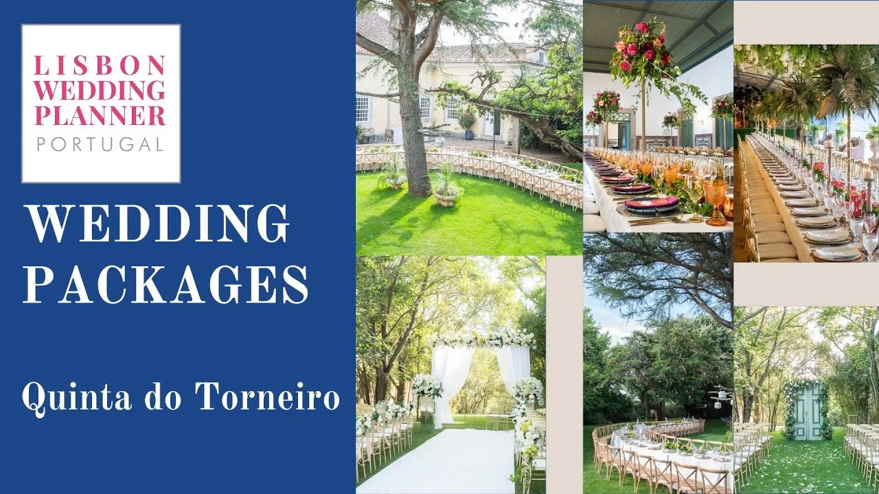Lisbon Wedding Planner Wedding Package - Quinta do Torneiro