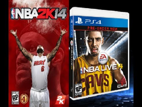 nba live 14 vs nba 2k14 ft nba 2k14 gameplay youtube