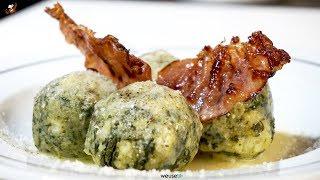 440 - Canederli spinaci e speck..poi puoi anche ascoltà Nek  (primo piatto facile tipico atesino)
