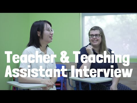 Abby & Sundy | Teacher & Teaching Assistant Interview