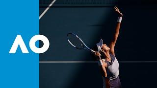 Garbiñe Muguruza vs. Shelby Rogers - Match Highlights (1R) | Australian Open 2020