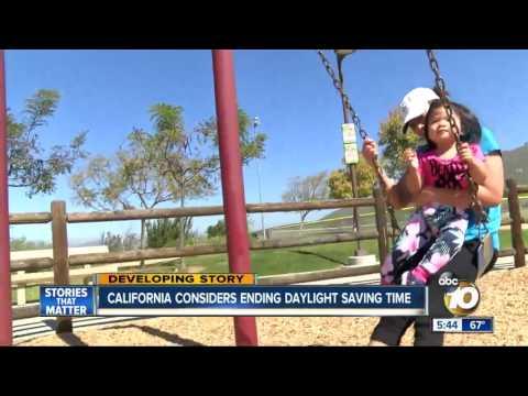 California considers ending daylight savings time
