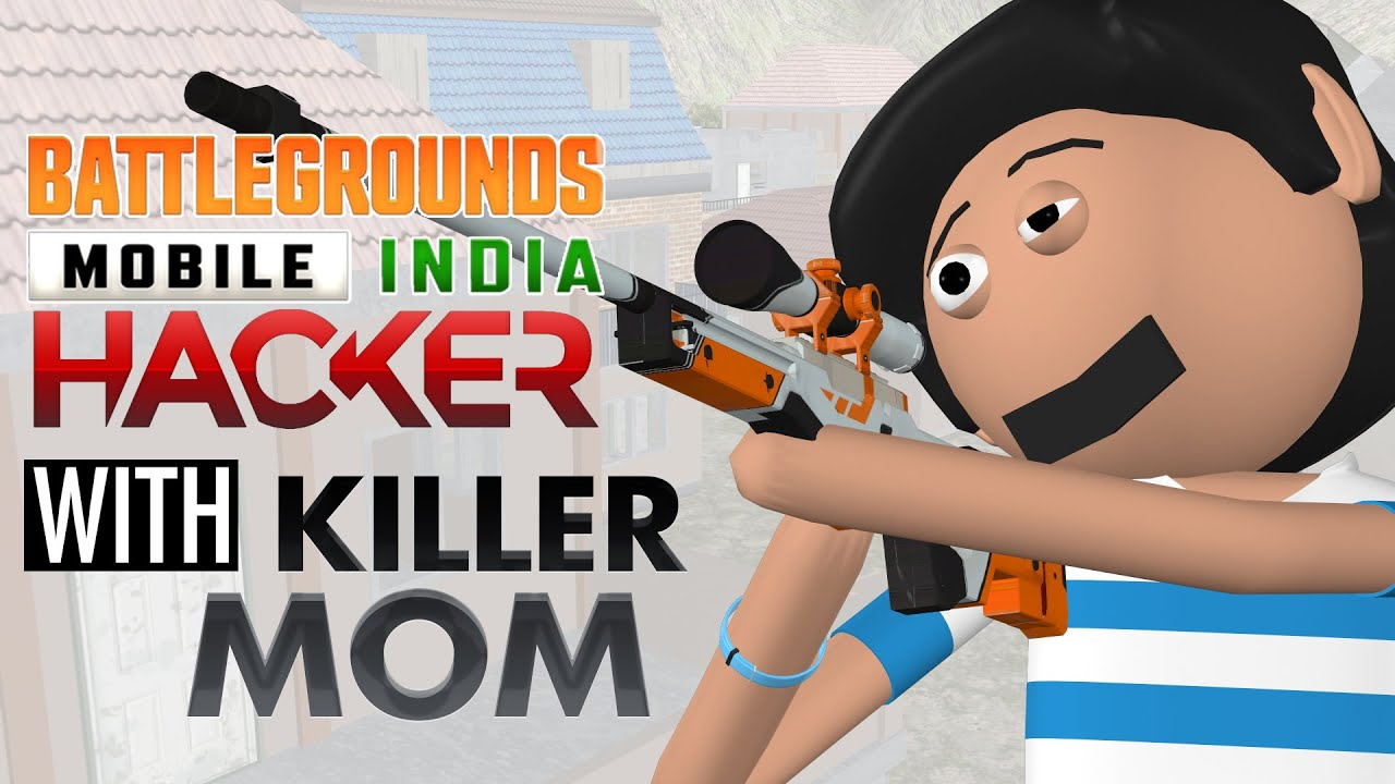 PUBG Hacker with Killer Mom   Goofy Works   Pubg Cartoon  Comedy Toons Cartoon