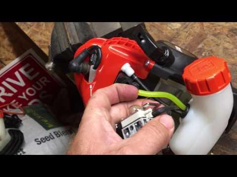 Echo srm 225 carb adjustment step by step
