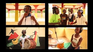 Our Music Students in Ghana Unite to Record an Original Song
