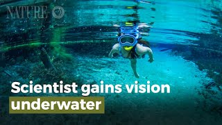 Scientist Gains Vision Underwater